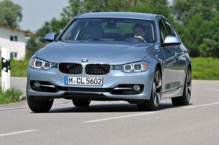 BMW ActiveHybrid 3-series обладает большой мощностью