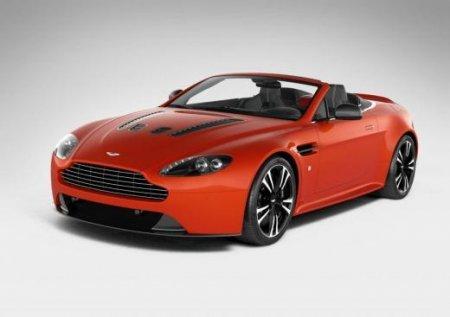 Новые данные о родстере Aston Martin 12 Vantage