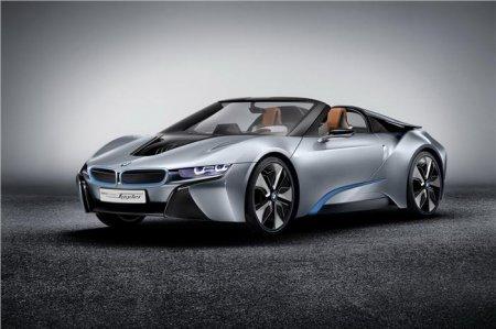 BMW i8 Spyder стал самым концептуальным автомобилем года