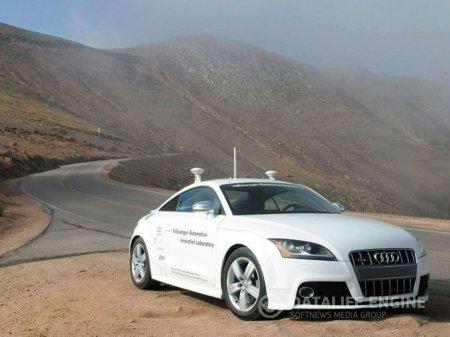 Автомобиль-робот Audi TTS разогнался до 190 км/ч