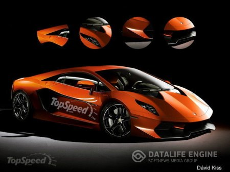 Первое изоброжение Lamborghini Cabrera