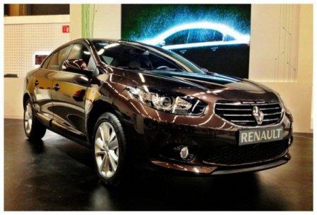 Renault Fluence получил новую внешность