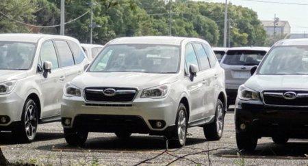 Первые снимки обновленного Subaru Forester