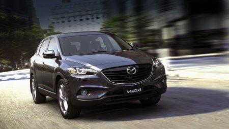 Mazda представила рестайлинговый кроссовер CX-9