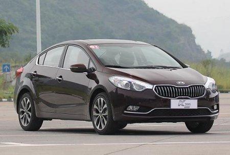 Сегодня стартовали продажи нового седана Kia K3