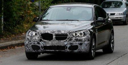 Обновленная BMW 5-series попалась на камеру