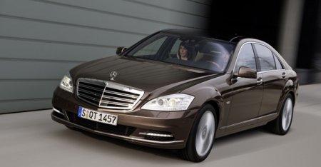 Компания Daimler уменьшит поставки Mercedes-Benz S-class