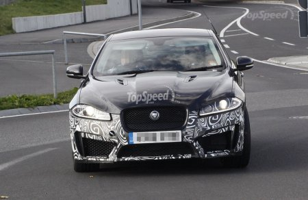 Jaguar XFR-S получил новые кузовные элементы