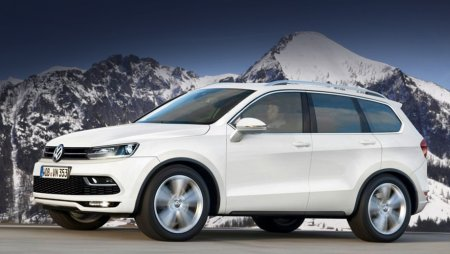 Volkswagen покажет в январе концептуальный кроссовер