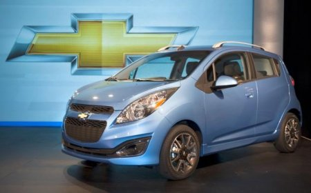 В следующем году начнутся продажи Chevrolet Spark EV