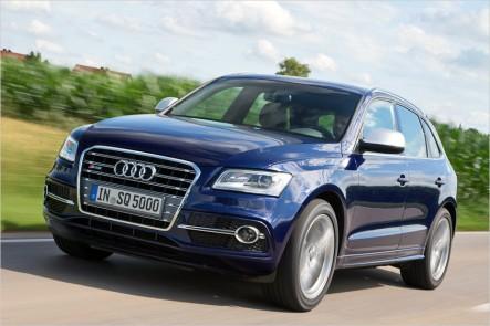 Audi оснастит SQ5 трехлитровым бензиновым мотором