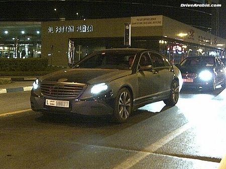 Первые официальные данные о новом Mercedes-Benz S-class