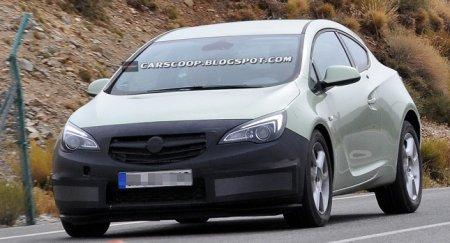 Opel Astra GTC подвергнется рестайлингу