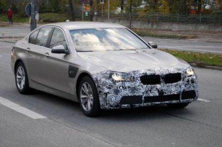 Свежие снимки нового поколения BMW 5-series