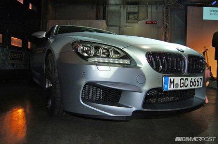 Снимки нового поколения BMW M6 Gran Coupe