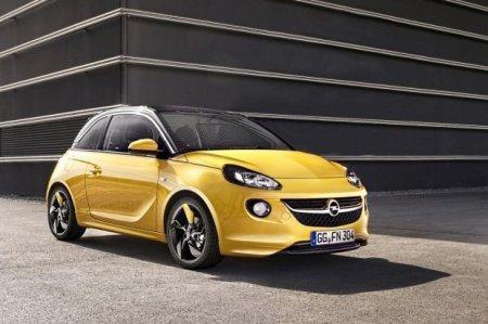 Opel Adam покажут в начале марта