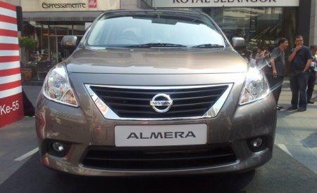 Продажи Nissan Almera начнутся с ограниченным выбором комплектации