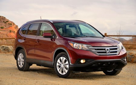 Начались российские продажи нового Honda CR-V
