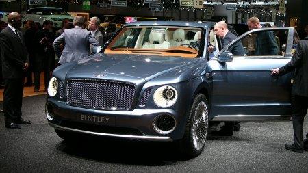 Bentley EXP 9F сменил свое название на Falcon