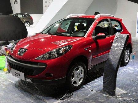 Peugeot подготовила для Китая Cross 207