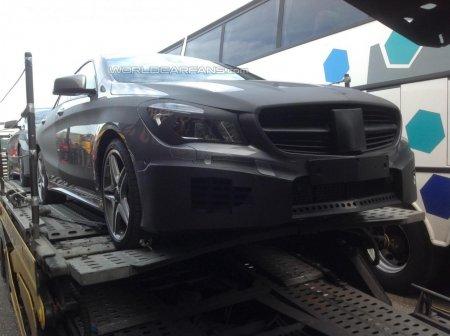Новый Mercedes-Benz CLA 45 AMG попался на камеру