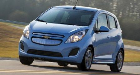 Названа стоимость электрического автомобиля Chevrolet Spark EV