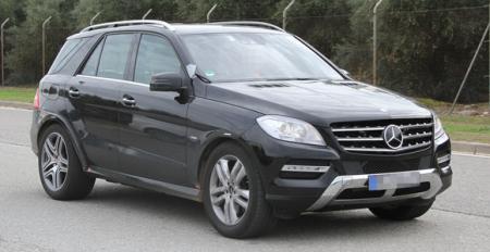 Новый Mercedes-Benz MLC проходит дорожные испытания
