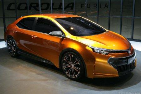 Показан концепт Toyota Corolla Furia