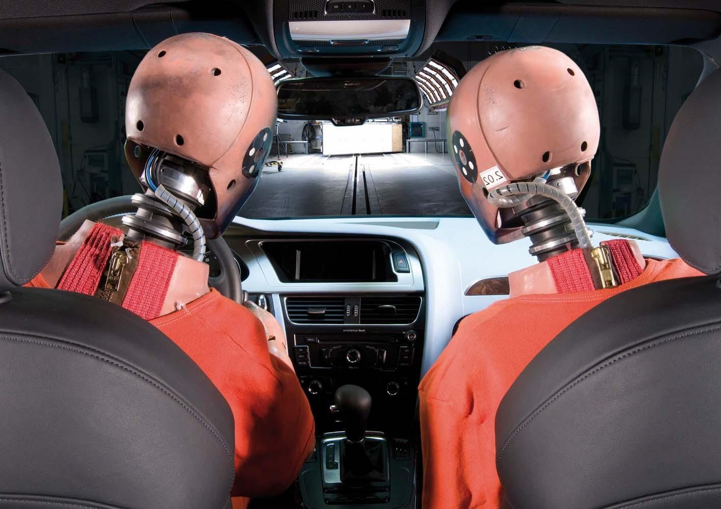 Audi: высшие рейтинги безопасности